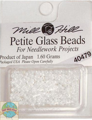 Mill Hill Petite Glass Beads 1.60g White