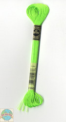 DMC Light Effects Embroidery Floss - Neon Green