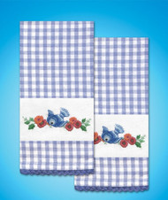 Design Works - Bluebird Towels (2)