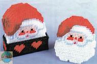 Design Works - Santa Coasters (Set of 6) - SALE!