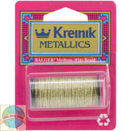 Kreinik Metallics - Medium #16 Golden Olive 5835