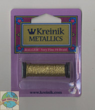 Kreinik Metallics - Very Fine #4 Gold 002