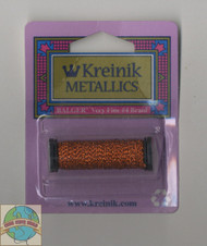 Kreinik Metallics Very Fine #4 Orangeruptis 027L