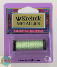 Kreinik Metallics - Very Fine #4 Star Green 9194