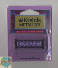 Kreinik Metallics - Very Fine #4 Passion Plum 1223