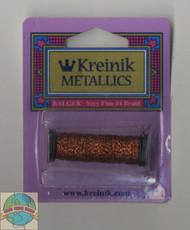 Kreinik Metallics Very Fine #4 Vintage Sienna 152V