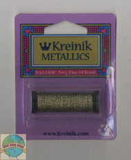 Kreinik Metallics - Very Fine #4 Antique Gold 205C
