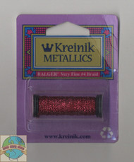Kreinik Metallics - Very Fine #4 Crimson 031