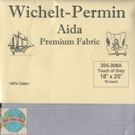 Wichelt - 16 Ct Touch of Grey Aida 18 x 25 in