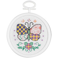 Janlynn Mini - Patchwork Butterfly