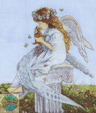 Design Works - Angel with Cat