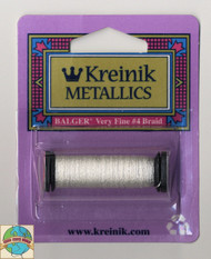 Kreinik Metallics - Very Fine #4 White 100