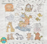Design Works - Noah's Ark Sampler Quilt