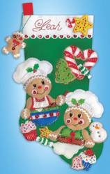 Design Works - Gingerbread Bakers Stocking