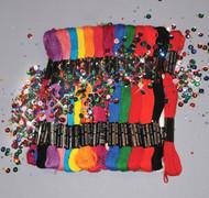 Design Works - Zenbroidery 36 Skein Basics Trim Pack