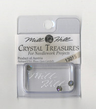 Mill Hill Crystal Treasures - Round Bead Black Diamond AB