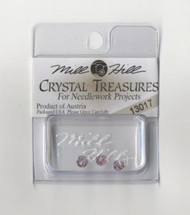 Mill Hill Crystal Treasures - Round Bead Light Amethyst AB