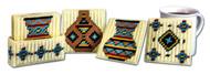 Design Works - Southwest Pots Coasters (7 Piece Set)
