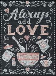 Mill Hill Chalkboard Quartet - Add Love