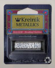 Kreinik Metallics Blending Filament - Silver 001HL (Hi Lustre)