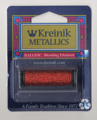 Kreinik Metallics Blending Filament - Red 003