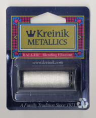 Kreinik Metallics Blending Filament - White 100