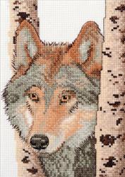 Plaid / Bucilla - Wolf