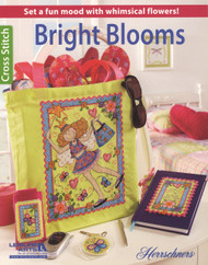 Leisure Arts - Bright Blooms