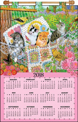 Design Works - Hammock Kittens 2018 Calendar
