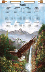 Design Works - Eagle 2018 Calendar