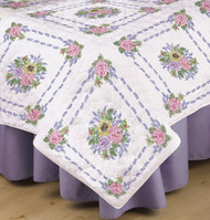 Design Works - Flower Bouquet Quilt Blocks (6)
