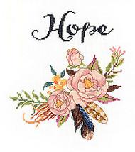 Janlynn - Watercolor Flowers Hope