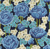 "Design Works - ""Blue Floral"""