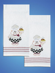 Design Works - Cat Chef Towels (2)