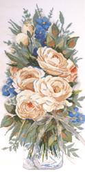 """Design Works - """"White Roses"""""""