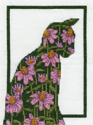 Design Works - Floral Cat