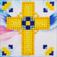 Diamond Dotz - Golden Cross