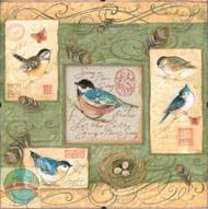 Dimensions Daydreams - Birds and Swirls