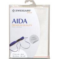 Zweigart - 14ct Opalescent Premium Quality Aida 19 x 21 in