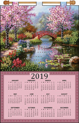 Design Works - Red Bridge 2019 Calendar