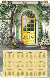 Design Works - Yellow Door 2019 Calendar