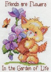 Design Works - Garden of Life Kitty