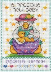 Design Works - Precious Baby Birth Record