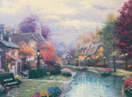 Candamar / Thomas Kinkade - Lamplight Brooke (Embellished)