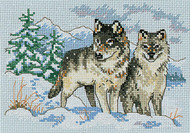 Dimensions Minis - A Pair of Wolves