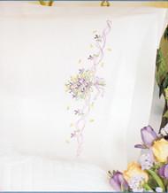 Dimensions - Violets Nosegay Pillow Cases