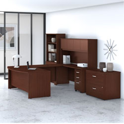 Bush Business Furniture Studio C - Harvest Cherry