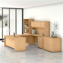 Bush Business Furniture Studio C - Natural Maple