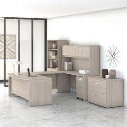 Bush Business Furniture Studio C - Sand Oak