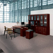 HON Announce Series Veneer Desking